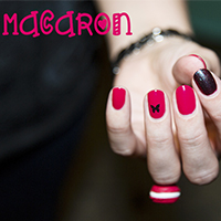 Manucure : Macaron