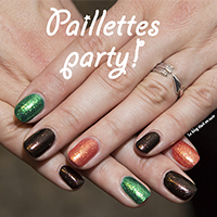 Manucure : Paillettes party!