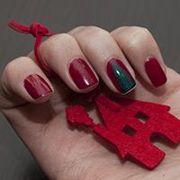 Manucure : Mon beau sapin