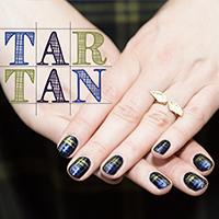 Manucure : Tartan