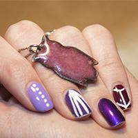 Manucure : Le violet me va si bien