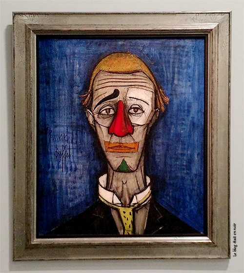 Tête de clown - Bernard Buffet (1955)